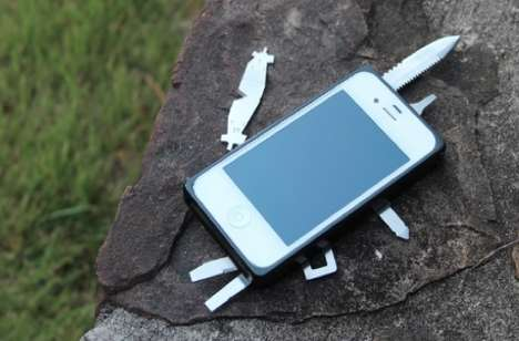 Swiss Army Cell Covers - The TaskOne iPhone Toolkit Will Now Fully Equip Your Smartphone