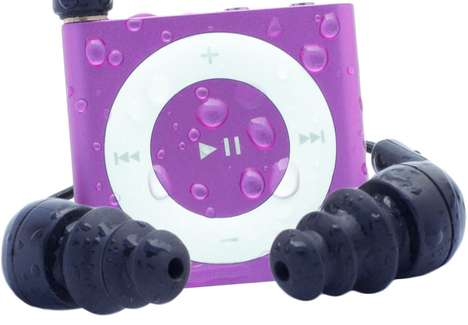 Moisture-Blocking MP3 Insulators - The Waterfi Waterproof iPod Kit Protects Your Shuffle from Damage