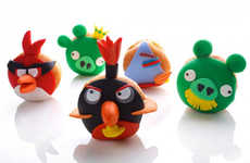Jewish Holiday Gaming Treats - Angry Birds Donuts are Hilarious Hanukkah Jelly Donut Designs