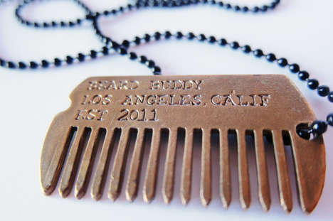 Beard Buddy Dog Tag Comb
