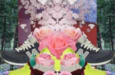 Floral Runway-Infused Collages