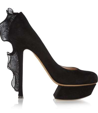 Nicholas Kirkwood Ruffle Pumps