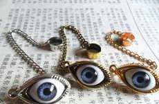 Intrusive Eyeball Earrings