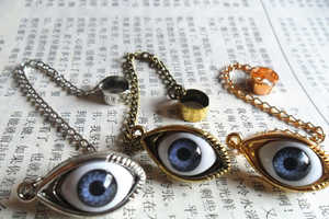 The Evil Eye Ear Cuff Can See All of Your Faults