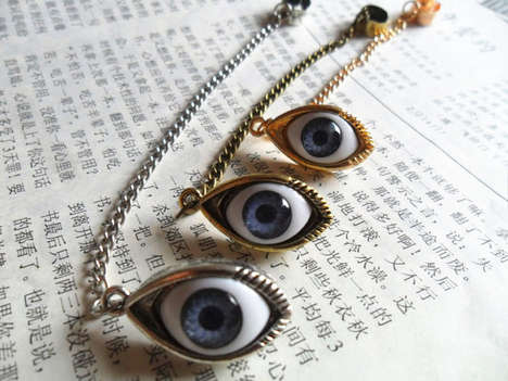 Evil Eye Ear Cuff 