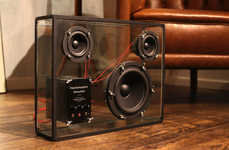 See-Through Sound Systems