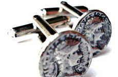 The Roman Coin Cufflinks Turn You Into a Respected Ruler