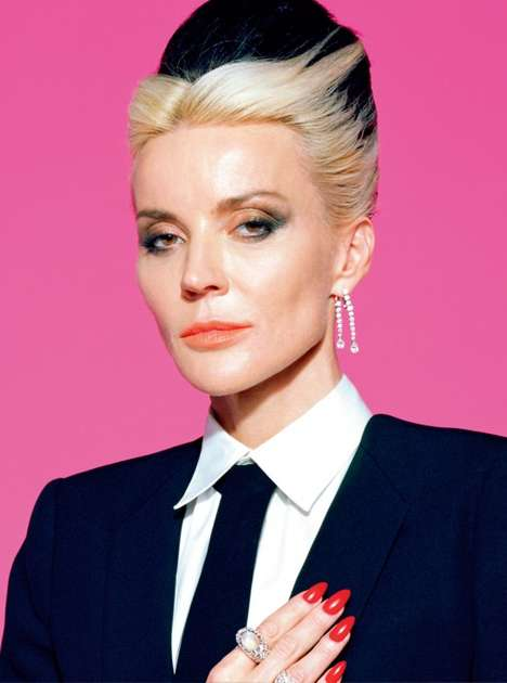 15 Daphne Guinness Diva Photoshoots - From Feminine Futuristic Fashion to Heiress Exhibits