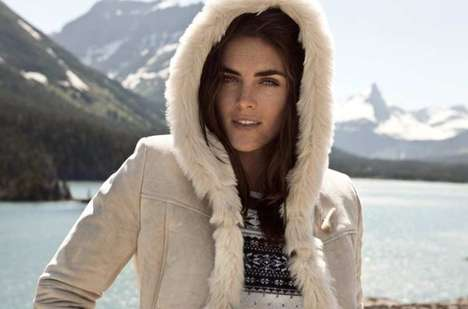 22 Riveting Hilary Rhoda Editorials - From Bold Autumn Fashion to Seductive Beach Photoshoots