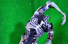 Artificial Anatomical Automatons - Humanoid Cyborgs Can Now Have Skeletal Structures and Muscles