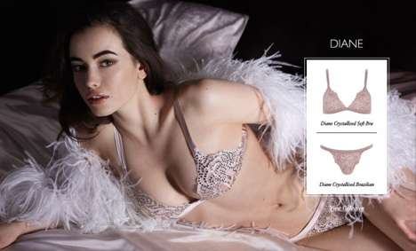 myla holiday 2012 lingerie