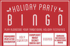 Universal Holiday Family Games - Get into the Festive Spirit with Holiday Party Bingo