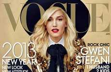 Glittery Matador Photography - Gwen Stefani Shows Her Inner Bullfighter in Vogue Issue