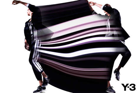 Contemporarily Structured Active Wear - The Y-3 Spring/Summer 2013 Line is Futuristically Chic