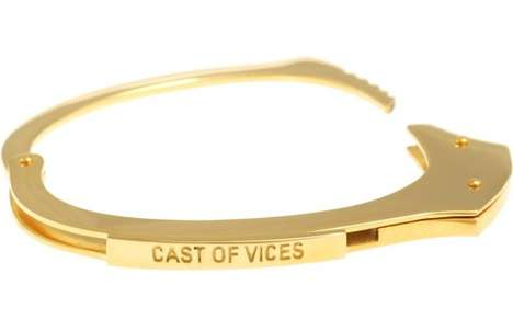 cast of vices handcuff bracelets