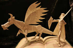 The Jodi Harvey-Brown Book Sculptures are Thrillingly Adventurous