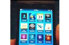 Company-Saving Smartphone Previews - Previews of the BlackBerry 10 OS Have Been Released