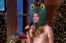 Amanda Seyfried Appeared in a Frog Suit to Rap On Ellen
