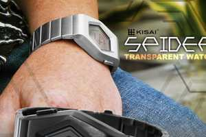 The Kisai Spider Sports a Transparent LCD Face