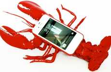 Crustacean Smartphone Cases - The Lobster iPhone Case is Both a Phone Protector and a Prop