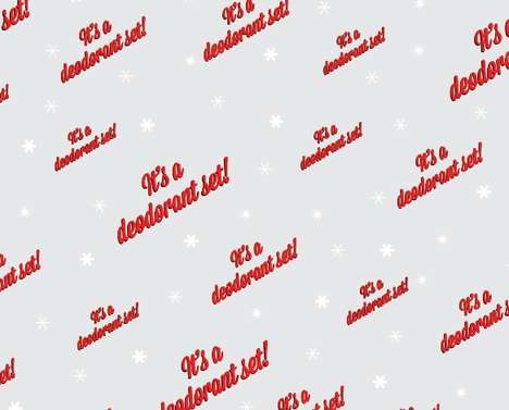 funny gift wrapping paper