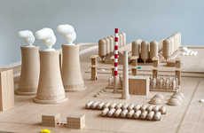 Nuclear Awareness Toy Blocks - The Critical Blocks Miniature World Educates Kids on Nuclear Weapons