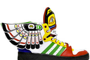 The JS Wings Eagle Totem Shoes Are Inspired by Native Culture