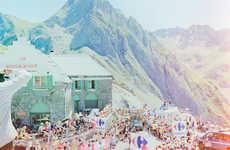Vibrant Tour de France Pictorials