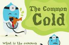 Common Illness Infographics - These Common Cold Statistics Teach You How to Avoid Getting Sick