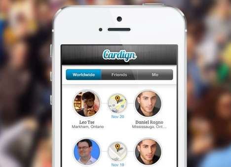 Photographic Contact Apps - The Cardign App Lets You Add a Person's Info by Snapping a Photo