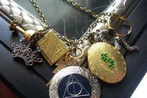 The Harry Potter Horcrux Locket Jewelry has All the Hunted Items