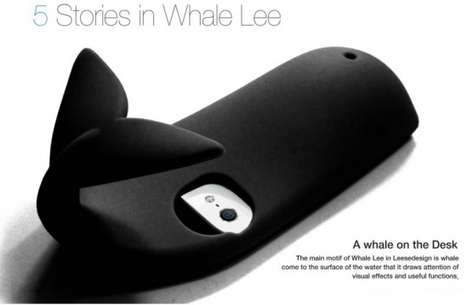 whale iPhone 5 case