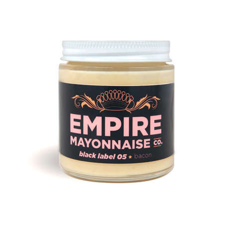 Porky Sandwich Spreads - The Empire Bacon Mayonnaise Gives Your Lunch a Touch of Salty Goodness
