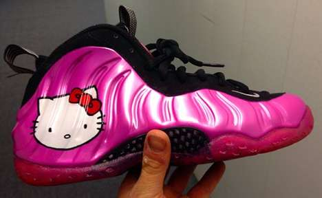Hello Kitty Nike Air Foamposite One