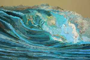 The Matthew Cusick Map Collages Create Art Though the Use of Maps