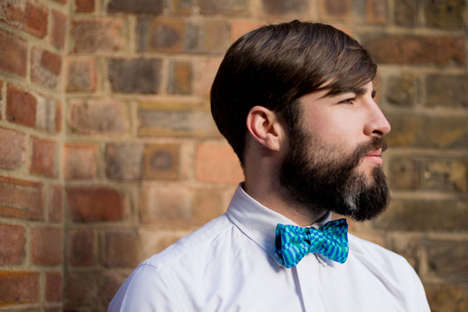 Bow Tie-Laden Lookbooks - The Charles Olive 2012 Holiday Lookbook is Preppy