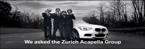 Speedy Christmas Carollers - BMW Creates the Fastest Christmas Song in Their New M135i Model