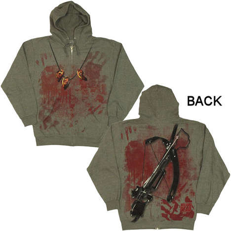 Zombie-Fighting Sweatshirts - The  Walking Dead Daryl Costume Hoodie Will Intimidate Enemies