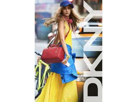 Freshly Bold Apparel - The DKNY Spring 2013 Campaign Features Model of the Moment Cara Delevingne