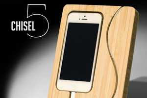 The Chisel 5 iPhone Dock Considers the Phone's Safety