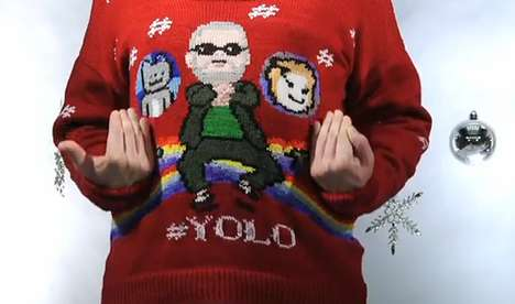Pop Culture Christmas Sweater