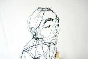 Artist David Oliveira Continues to Impress with His Wire Sculptures