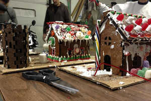 Laser Cut Gingerbread Houses Assemble Like Jigsaw Puzzles