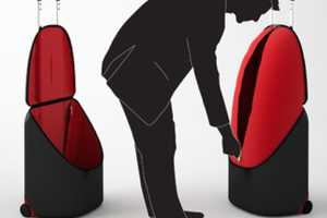 The ExtraLarge Suitcase Upsizes with the Opening of its Top