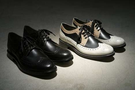Gentlemenly Leather Wingtips - The Cole Haan Soho Exclusive Shoes are Tastefully Classic