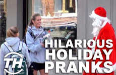 Hilarious Holiday Pranks