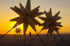 Cosmic Desert Installations