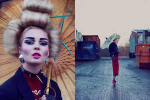 The Fashion Gone Rogue 'Punk Geisha' Feature Epitomizes Edgy Style