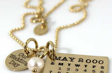 Golden Nuptial Day Necklaces