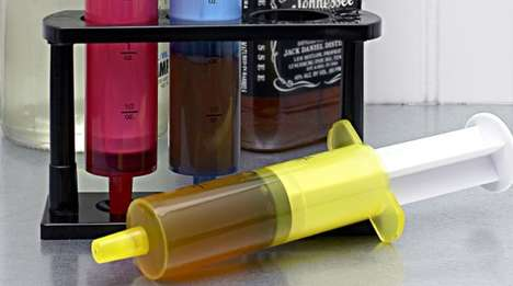 Medical Alcohol Dispensers - Doctors Orders Syringe Shooters Turn Shots into Medicine